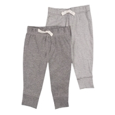 Carter s卡特 居家休閒長褲 二件組 深灰條紋 | 男寶寶 | 北投之家童裝【CA126H549】