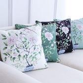 歐式沙發抱枕靠墊套靠枕含芯腰靠「巴黎街頭」
