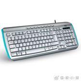 愛國者有線鍵盤臺式筆記本電腦外設家用辦公商務游戲USB鍵盤舒適 YXS 理想潮社