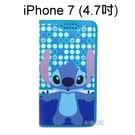 迪士尼彩繪皮套 [普普史迪奇] iPhone SE (2020) / iPhone 7 / 8 (4.7吋)【Disney正版授權】
