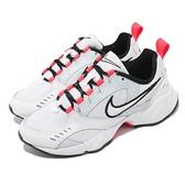 Nike 休閒鞋 Wmns Air Heights 白 紅 復古設計 女鞋 百搭款 厚底 【ACS】 CI0603-108