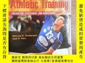 二手書博民逛書店Foundations罕見of Athletic Trainin