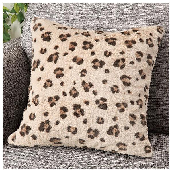 抱枕套 45×45 AT leopard O 20 NITORI宜得利家居