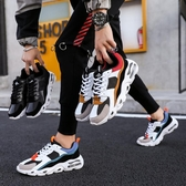 氣墊鞋 ins超火鞋子男夏季韓版潮流板鞋運動休閒跑步氣墊百搭老爹鞋男 芊墨左岸