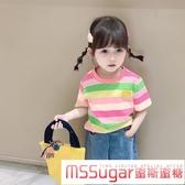 2020夏裝新款童裝女童小童寶寶兒童純棉T恤半袖上衣洋氣短袖體恤