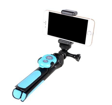 自拍桿拍照神器蘋果安卓手機 運動相機通用藍芽遙控小巧便攜ATF 沸點奇跡