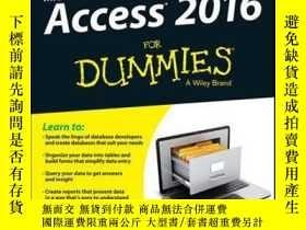二手書博民逛書店Access罕見2016 For DummiesY410016 Laurie A. Ulrich,... I