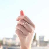 925純銀木有枝戒指女 日韓指環