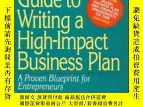 二手書博民逛書店The罕見Mcgraw-hill Guide To Writing A High Impact Business