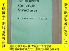 二手書博民逛書店Reinforced罕見concrete structures(R.Park和T.Paulay)鋼筋混凝土結構英文