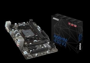 【超人百貨X】 MSI A68HM-E33 V2 AMD A68H 主機板 DDR3 2DIMM 32GB
