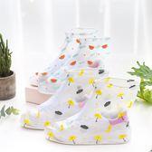 雨鞋套 韓國小清新鞋套防水雨天防滑加厚耐磨防滑雨鞋套下雨防雨雪鞋套 傾城小鋪