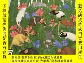 二手書博民逛書店英文繪本:Ten罕見Little Mice Dunbar, Jo