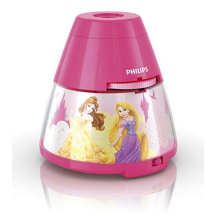 PHILIPS 飛利浦 迪士尼魔法燈 / LED投影燈 (迪士尼公主) 71769