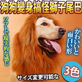【培菓幸福寵物專營店】DYY》叢林之王寵物變身搞怪-獅子尾巴