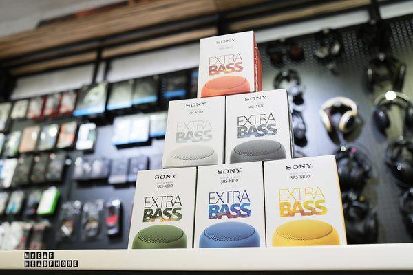 SONY XB10 重低音 防水 藍芽喇叭 多色可選 公司貨 [My Ear 台中耳機專賣店]