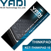 YADI 亞第 超透光 筆電 鍵盤 保護膜 KCT-THINKPAD 10 E100系、S200系、E220S、X121E等