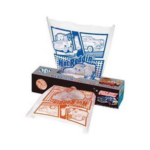 【震撼精品百貨】汽車總動員_迪士尼CARS可愛圖案盒裝塑膠袋(40枚入)