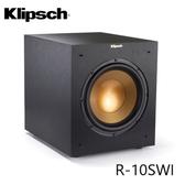 【結帳再折+24期0利率】 Klipsch 古力奇 R-10SWI 無線 重低音喇叭 公司貨