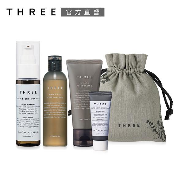 THREE 舒活極致保養5件組