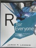 【書寶二手書T7/電腦_ZDX】R for Everyone: Advanced Analytics and Graph