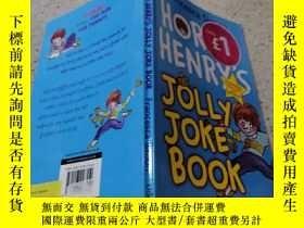 二手書博民逛書店horrid罕見henry s jolly joke book :可怕的亨利快樂的笑話書Y200392