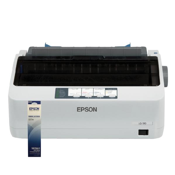 【加贈一支原廠色帶送二年保固】EPSON LQ-310 點陣印表機 報稅最佳利器