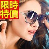 太陽眼鏡 偏光墨鏡(單件)-隨意自信質感歐美細緻防紫外線5色55s47[巴黎精品]
