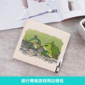 旅行青蛙錢包學生卡包 旅二次元周邊 來圖定制DSHY