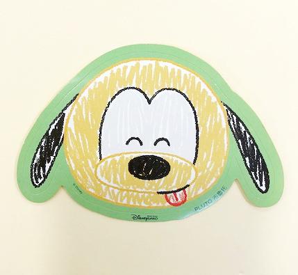 【震撼精品百貨】布魯托_Pluto~Q版貼紙-4入