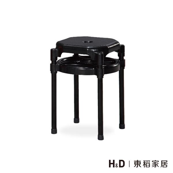 黑色雙環椅 (21SP/853-12)