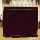 新款布藝加厚絲絨鋼琴罩全罩蕾絲蓋布歐式簡約現代鋼琴套防塵罩 蘿莉小腳丫