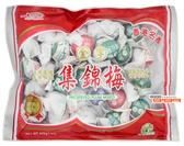 【吉嘉食品】華泰興 集錦梅(經濟包) 每包400公克 [#1]{572813}