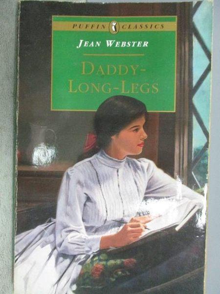 【書寶二手書T1/原文小說_MKH】Daddy-Long-Legs_Jean Webster