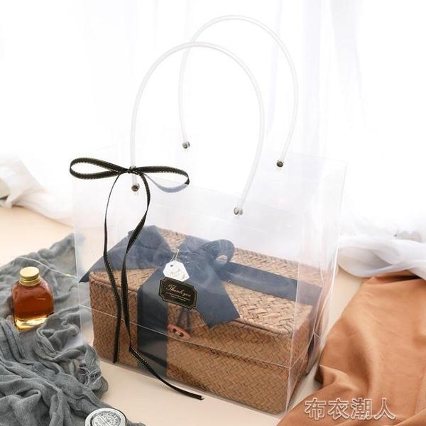 禮物盒 結婚節慶伴手禮女伴娘竹籃伴手禮盒空盒禮物盒子ins風喜糖包裝盒 布衣潮人