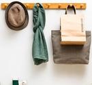 衣帽架壁掛衣帽架墻上置物架臥室掛鉤門後掛衣架收納整理衣服架子=DF維多