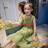 兒童連身裙夏季童裝韓版時尚裙子中大童【淘嘟嘟】
