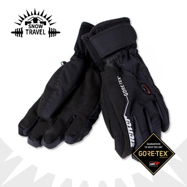 【SNOW TRAVEL Gore-Tex 防水透氣手套《黑》】AR-62/防水手套/防風/賞雪/滑雪/登山/機車