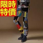 牛仔褲-新品魅力丹寧男休閒長褲59i49【巴黎精品】
