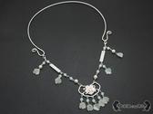瓔珞項圈 漢服軟圈配飾珍珠項鍊古典民族風首飾 - 雙十一熱銷
