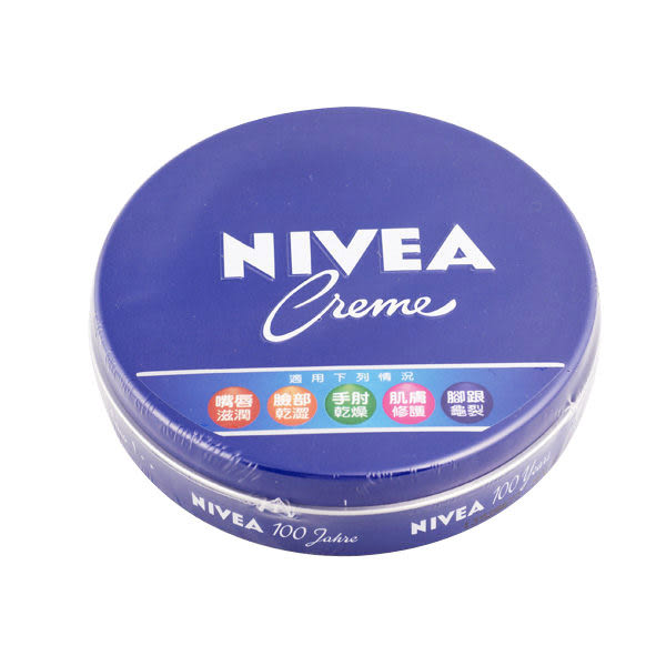 【NIVEA妮維雅】保濕潤膚霜(鐵盒)150g