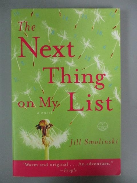 【書寶二手書T3/原文小說_NHI】The Next Thing on My List_Jill Smolinski