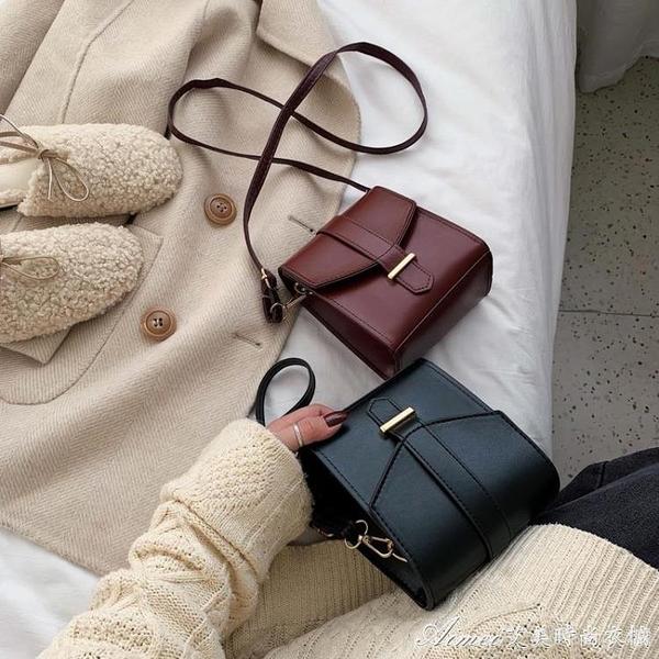 手機包上新港風復古小包包女包百搭斜挎潮韓版高級感單肩手機包 快速出貨