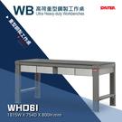 【樹德工作桌】WHD6I 高荷重型鋼製工作桌 工廠 工具桌 背掛整理盒 工作站 鐵桌 零件桌 櫃子