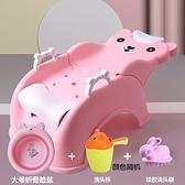 洗頭椅 兒童洗頭發躺椅可折疊洗頭神器家用小孩洗頭發床凳子多功能 【米娜小鋪】