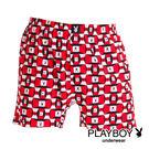 【Play Boy】MIT製造 方塊紅兔四角褲『單件組』PN201-673A