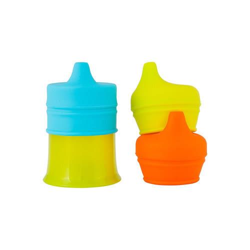 特價 boon 防漏學習杯-男孩(藍橘綠)_BN11143