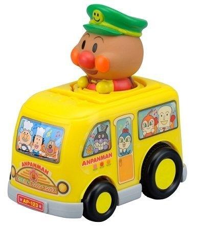 【震撼精品百貨】麵包超人_Anpanman~麵包超人知育玩具-巴士小公車-按壓式#17921