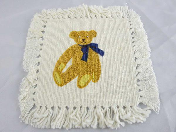 【震撼精品百貨】Holly's Bear 泰迪熊~小餐墊『帆布』