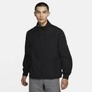 NIKE服飾系列-FLEX HYBRID JKT 男款黑色立領運動外套-NO.CU6739010